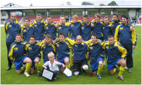 St Albans Romans National Cup Winners 2007